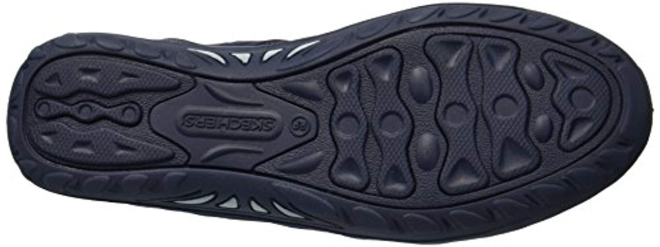 Skechers Reggae Fest-day Blaze-sporty Bungee Sneaker in Navy (Blue)