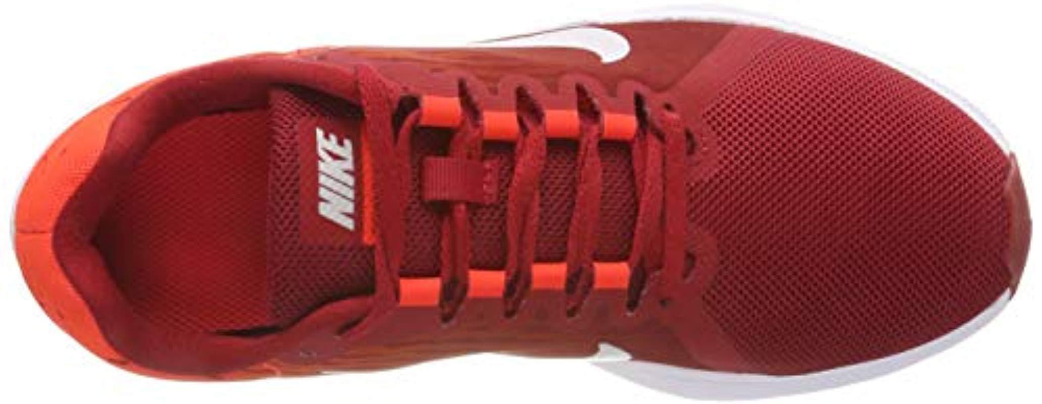 Wmns Downshifter 8, Zapatillas de Deporte para Mujer Nike de color Rojo