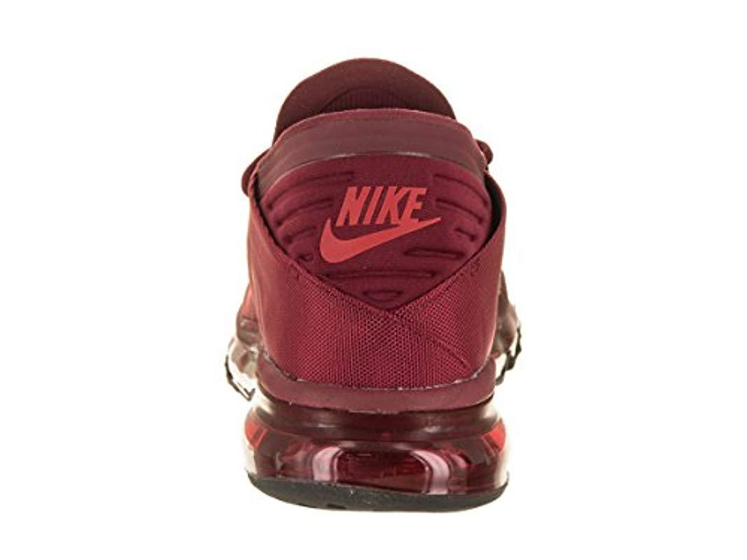 Nike Air Max Flair Se Running Shoes in Red for Men