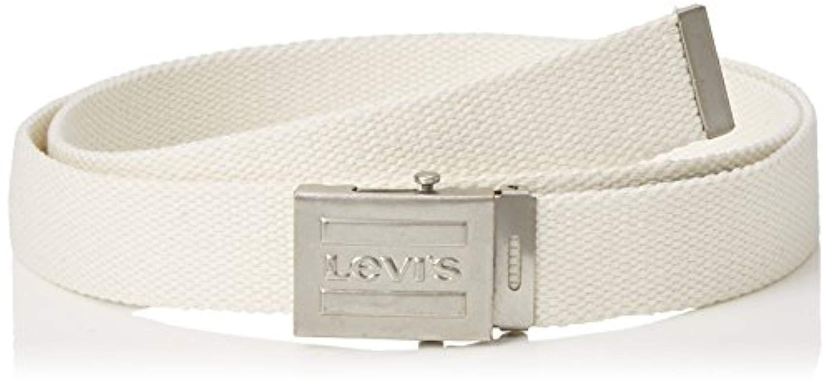 2b34a759886f Levi S Olympic Web Belt in Natural for Men - Lyst