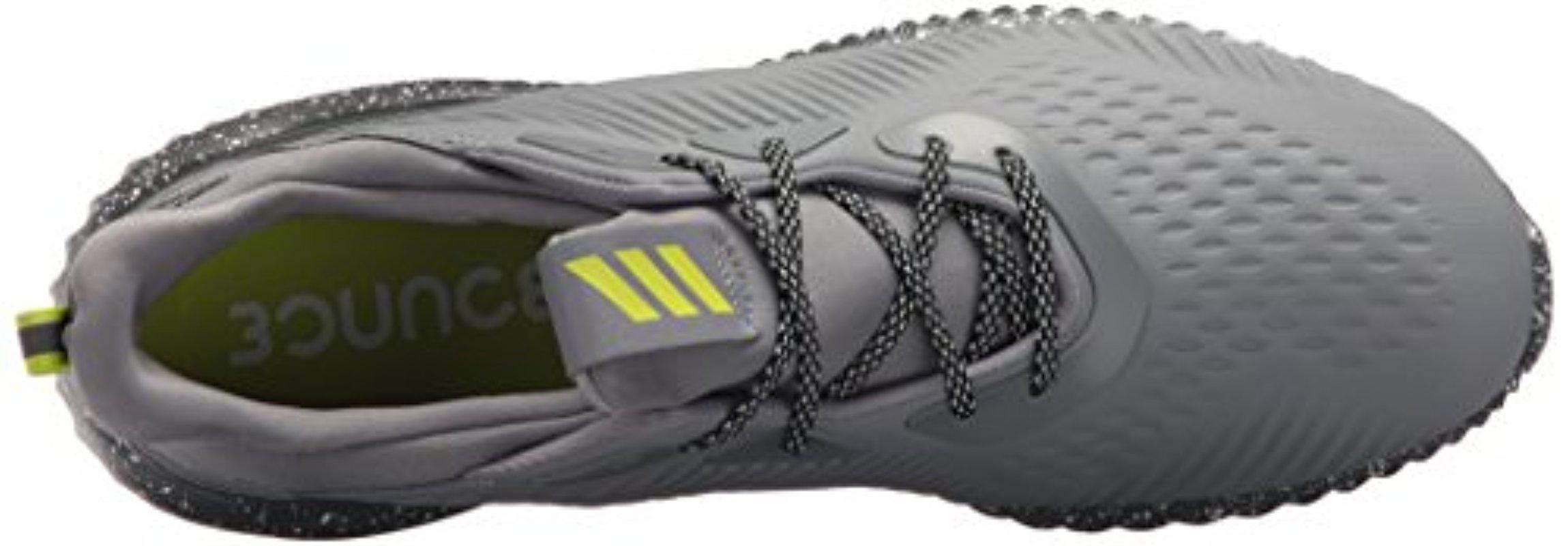 53eaea303 Adidas - Gray Alphabounce Em Ctd Running Shoe for Men - Lyst. View  fullscreen