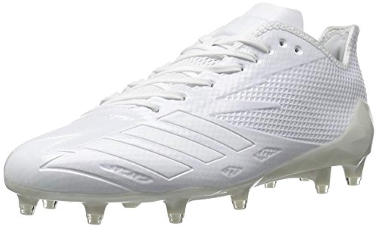 super popular 97e77 d9897 Lyst - Adidas Freak X Carbon Mid Football Shoe in White for