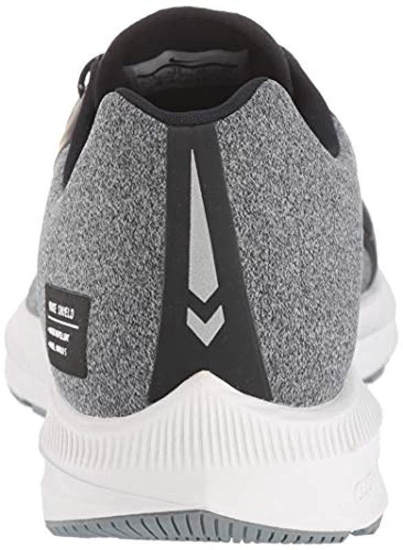 pretty nice 37983 9804f Nike - Black Zoom Winflo 5 Run Shield Shoes for Men - Lyst. View fullscreen