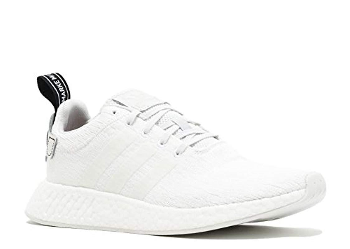 d043813ea2 Lyst - adidas Originals Nmd r2 Running Shoe in White for Men