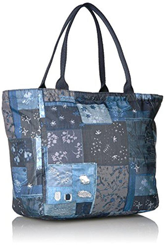 38a284187f Lyst - LeSportsac Classic Small Everygirl Tote in Blue