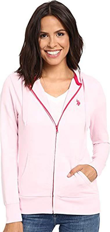 U.S Polo Assn Juniors Easy Hooded Sweatshirt