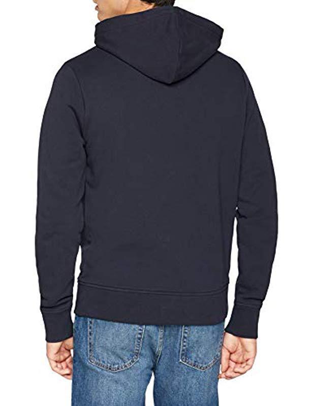3792353070d01 Tommy Hilfiger Big Scale Logo Hoody in Blue for Men - Lyst