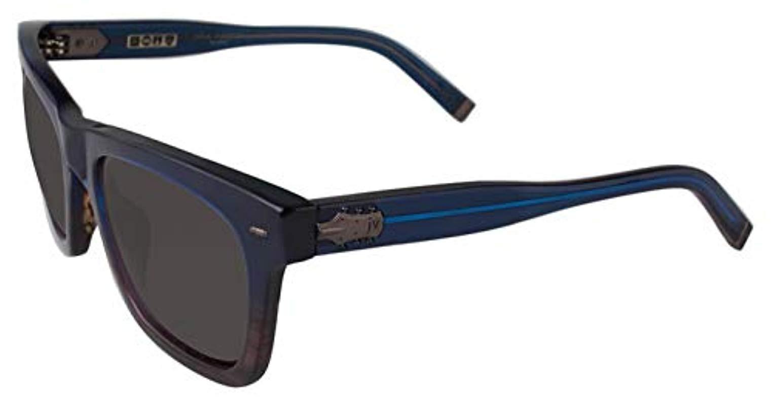 V510 John Varvatos Men/'s Square Classic Sunglasses w// Anti-Reflective Lens