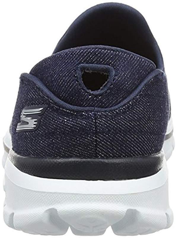 Go Walk 3, Zapatillas Mujer Skechers de color Azul