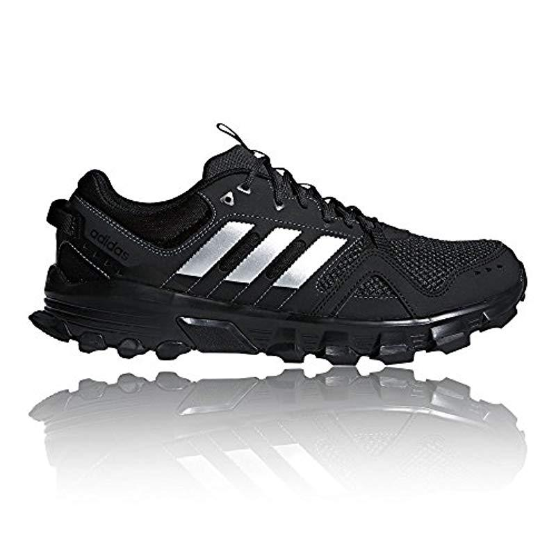 new style 9aa2e ce1d1 Adidas - Black Rockadia Trail Running Shoes for Men - Lyst. View fullscreen