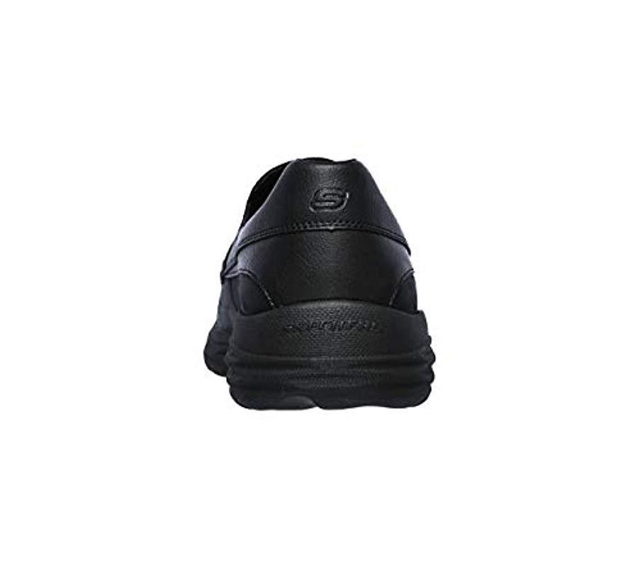 ffc35adeb1a Skechers - Black Harsen-ortego Loafer for Men - Lyst. View fullscreen
