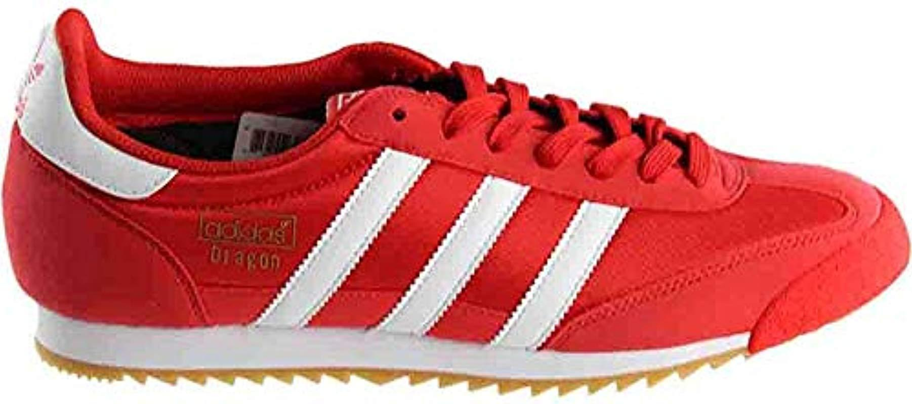 adidas red dragon trainers