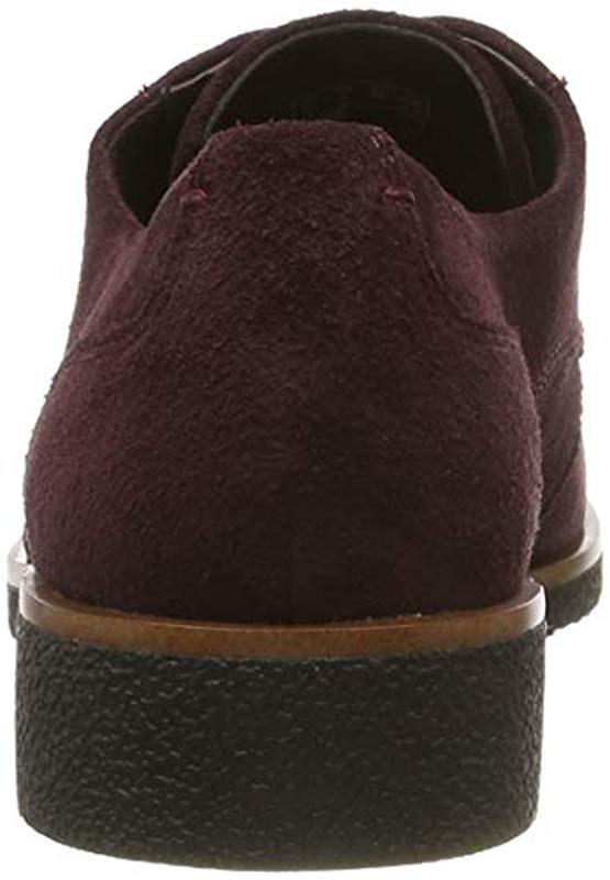Griffin Lane, Zapatos de Cordones Derby para Mujer Clarks de color Morado
