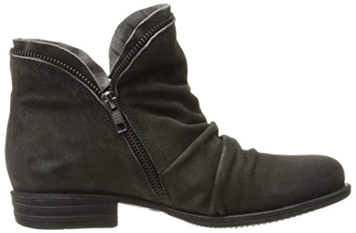Miz Mooz Luna Ankle Boot In Gray Lyst