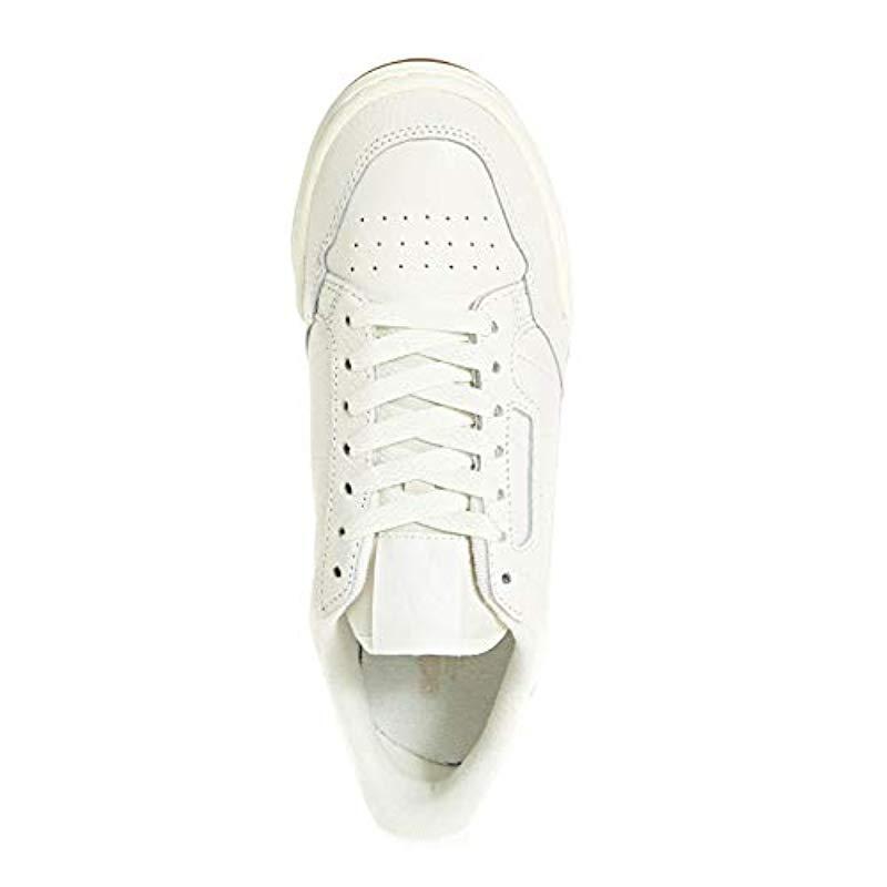 Continental 80 W, Zapatillas de Deporte para Mujer adidas de color Blanco