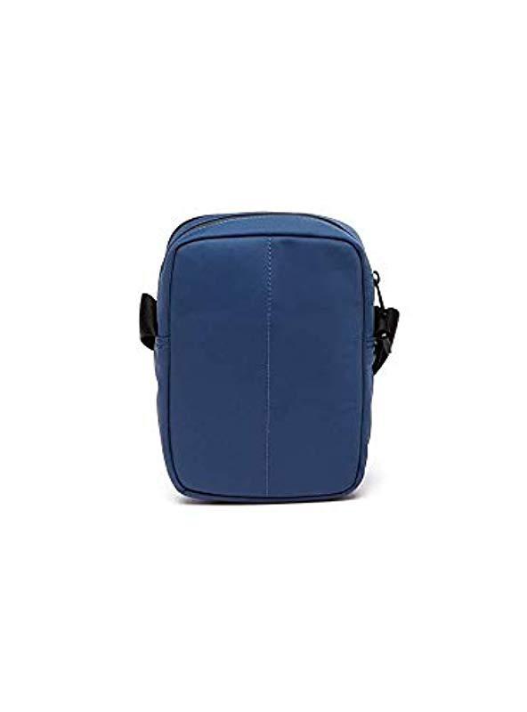3b693d7af910e5 Lacoste - Blue Nh2664tk Shoulder Bag for Men - Lyst. View fullscreen
