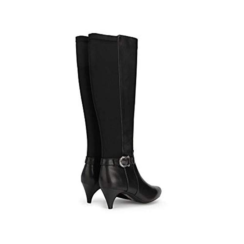cfe31a999ac Lyst - Kenneth Cole Reaction Kick Tall Dress Boot With Kitten Heel ...