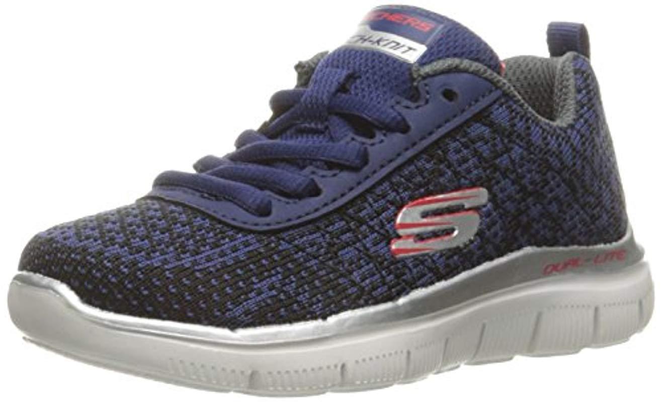Flex Advantage 2.0-Golden POI, Zapatillas para Niños, Azul (Nvbk), 32 EU Skechers de hombre de color Azul