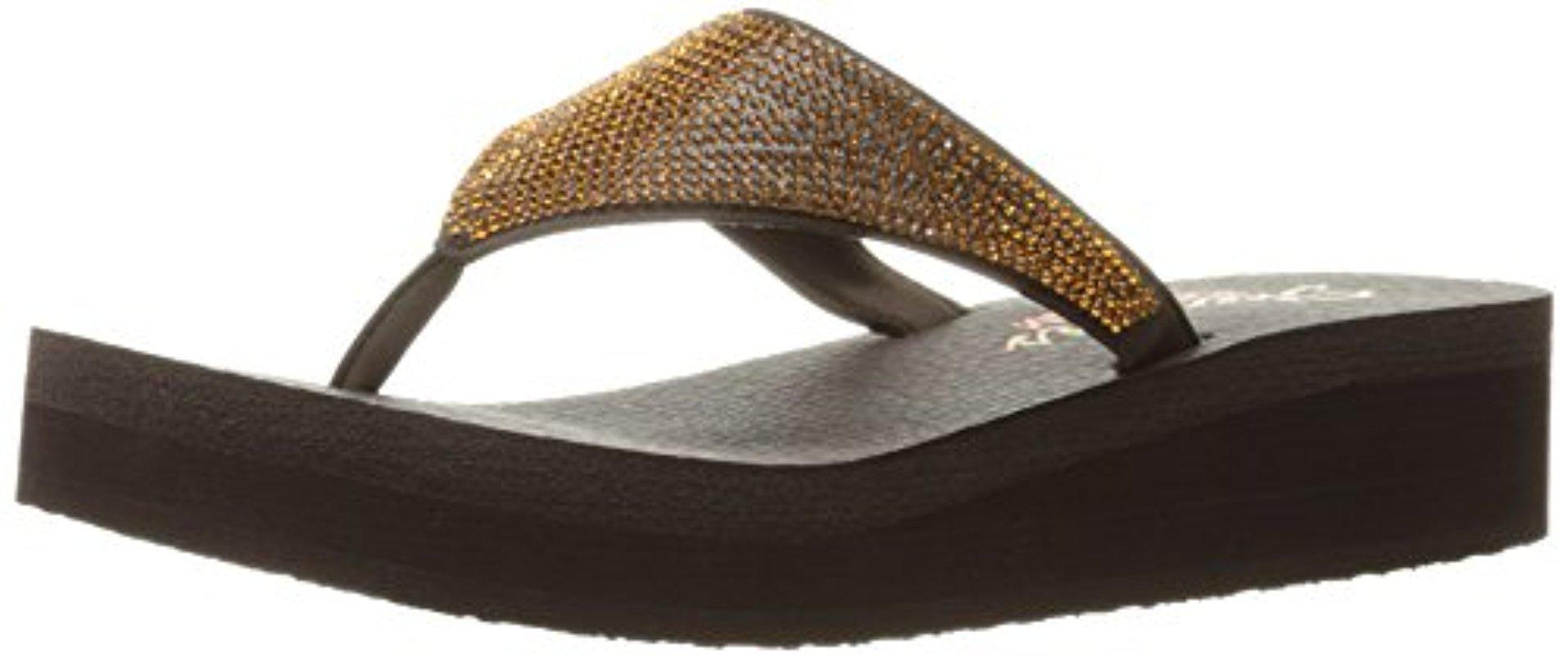 f6c724311b4e33 Skechers. Women s Cali Vinyasa Bindu Flip Flop