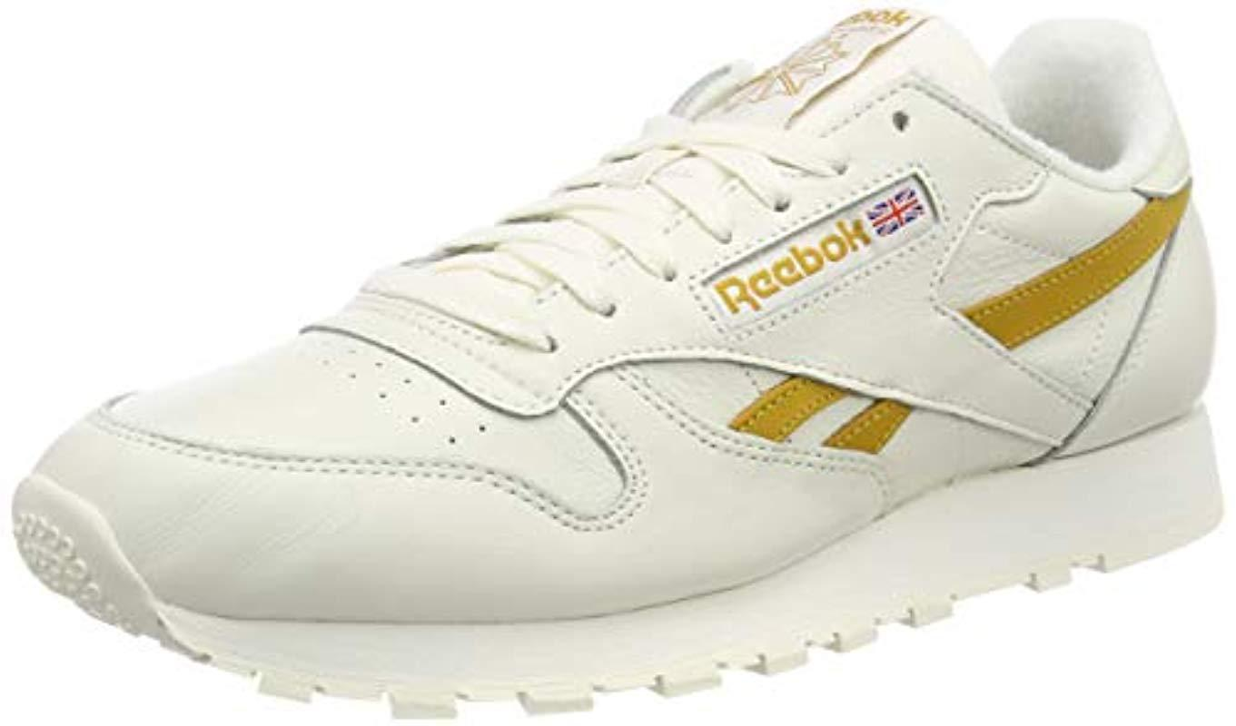 aa42d61e8220d Reebok Classic Leather Mu Low-top Sneakers in Natural for Men - Save ...