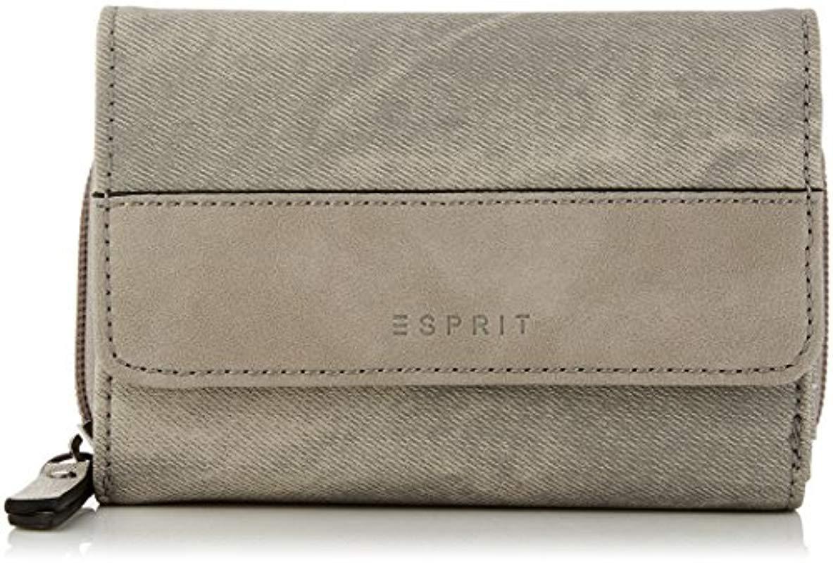 f2068c6890 Esprit 077ea1v025 Wallet in Gray - Lyst