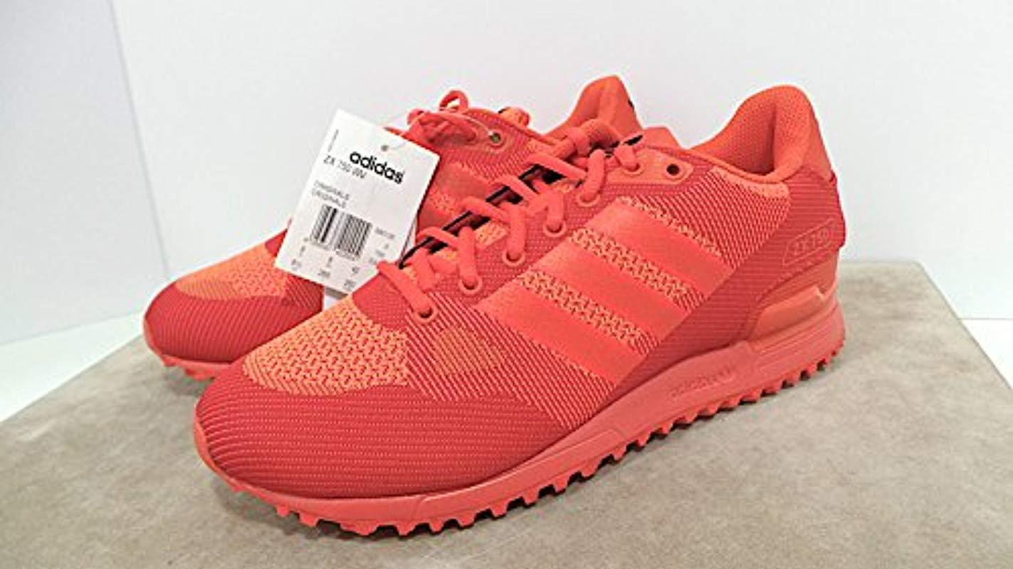 big sale a8a4f 4db87 adidas Unisex Adults' Zx 750 Wv Fitness Shoes in Red for Men ...