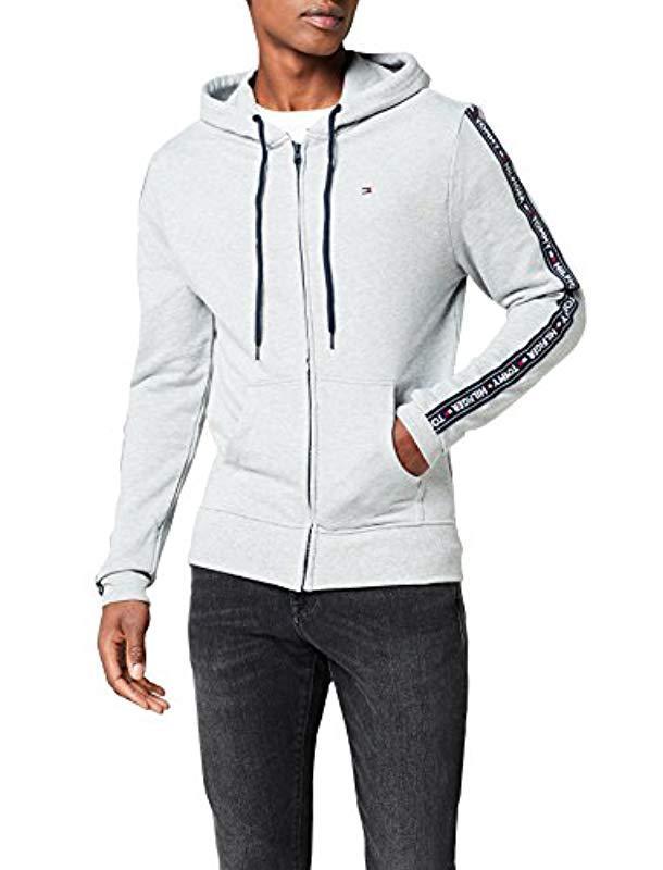 ac42918dc Tommy Hilfiger Hoody Ls Hwk Sweatshirt in Gray for Men - Lyst