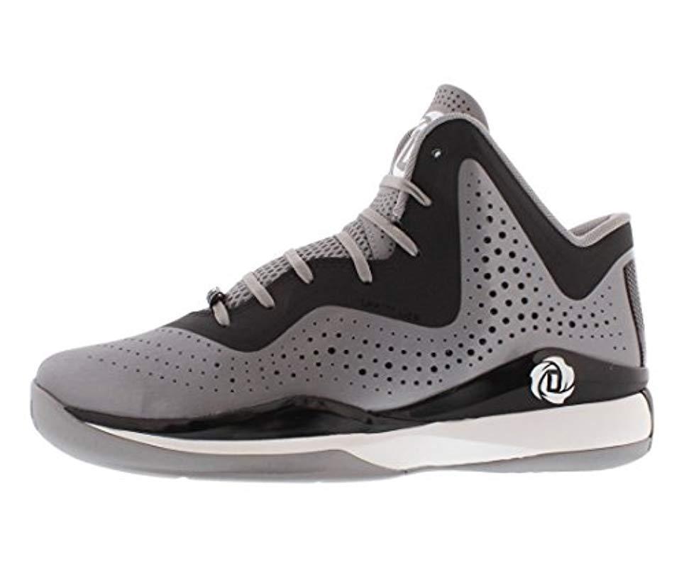 b466bfb7052b Lyst - adidas D Rose 773 Iii Men Us 9.5 Gray Sneakers in Black for Men