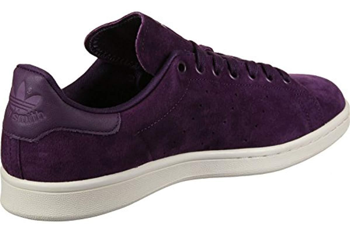 Hiking Lyst Purple Rise Shoes For Men Adidas SmithLow Stan In qzpUMSVG