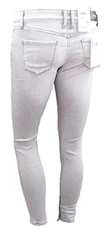 Pepe Jeans Synthetik CHER jeans Grey Used in Grau GwwKE