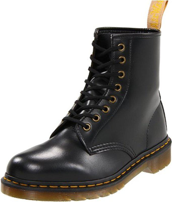 Dr. Martens Vegan 1460 8-Eye Boot -Cherry Red Cambridge Brush Off Leather Buy Cheap Cheap Latest Collections Online Shopping Online Sale Online 2hAEB8ZDyD