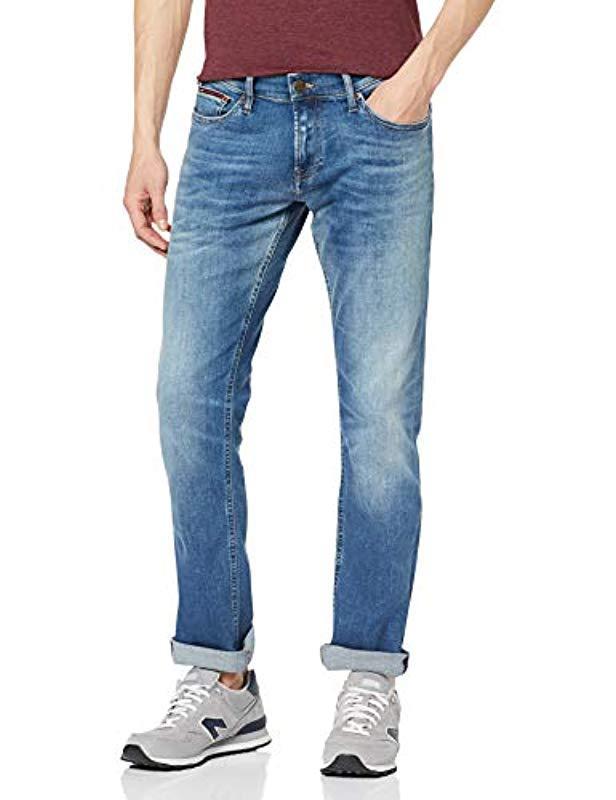 8d0373ff Tommy Hilfiger Slim Scanton Flcnm Jeans in Blue for Men - Save 10 ...