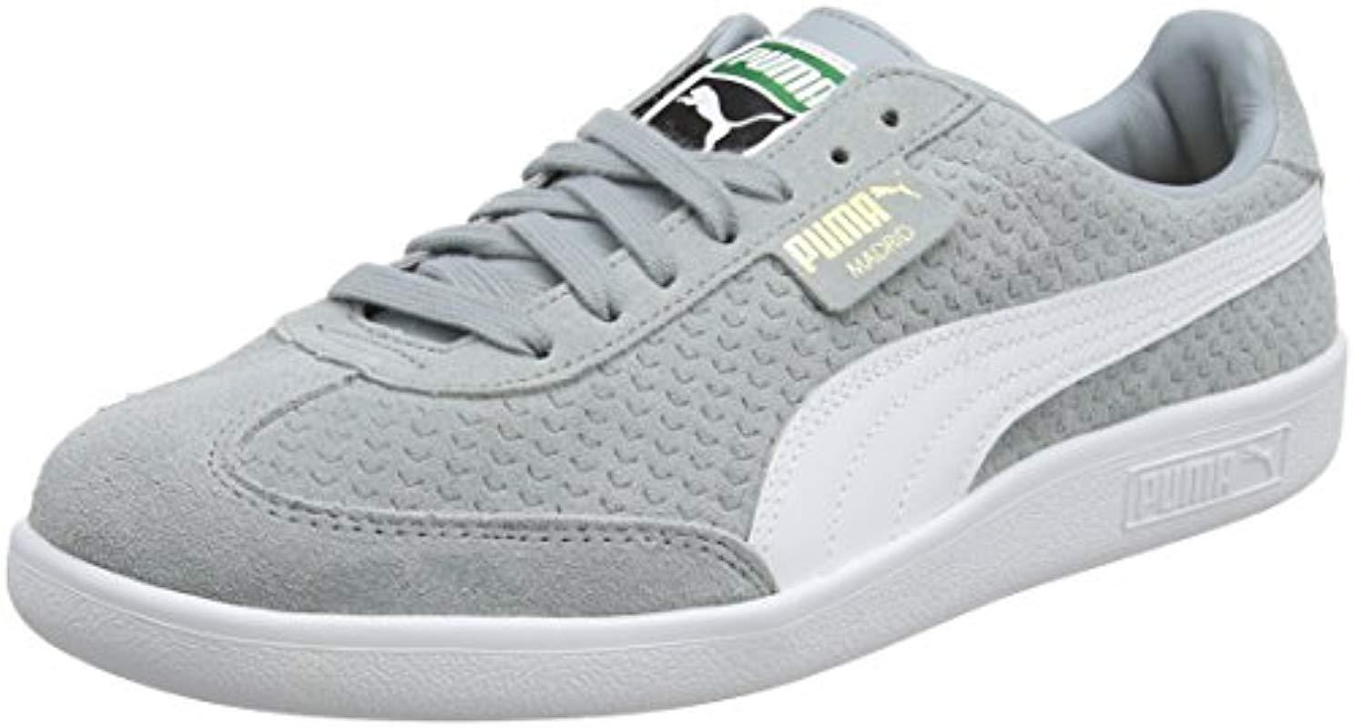 24ff77dc2501 PUMA Unisex Adults  Madrid Perforated Suede Trainers - Lyst