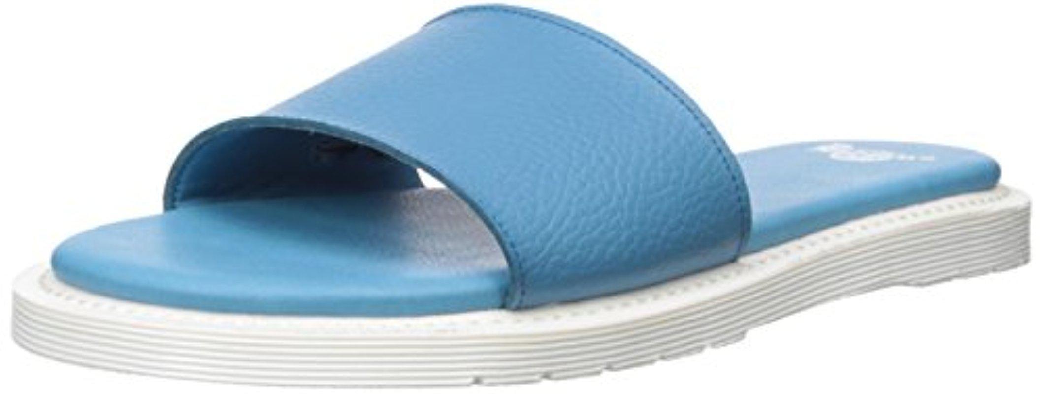 Dr Martens Dr Martens WoMen Cierra II Sky Blue Slide Sandal Sky Blue For Sales