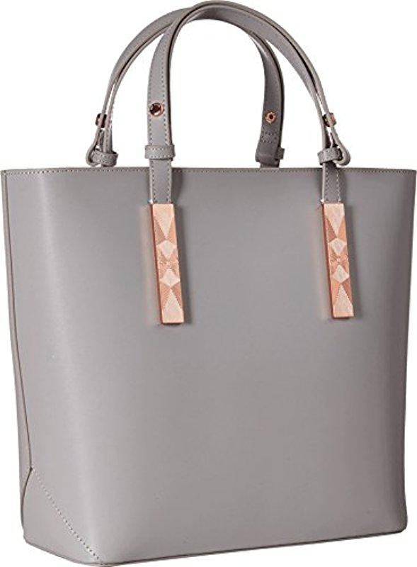 08c9cef56dfff0 Lyst - Ted Baker Jaceyy in Gray