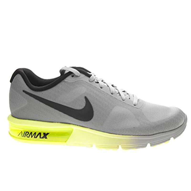 Nike Air Max Sequent Running Shoes in Grey for Men