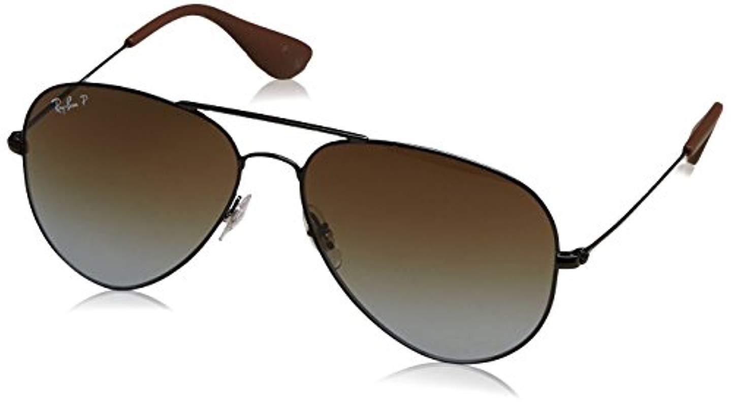 92df3bad43 Ray-Ban. Women s 3558 Aviator Sunglasses