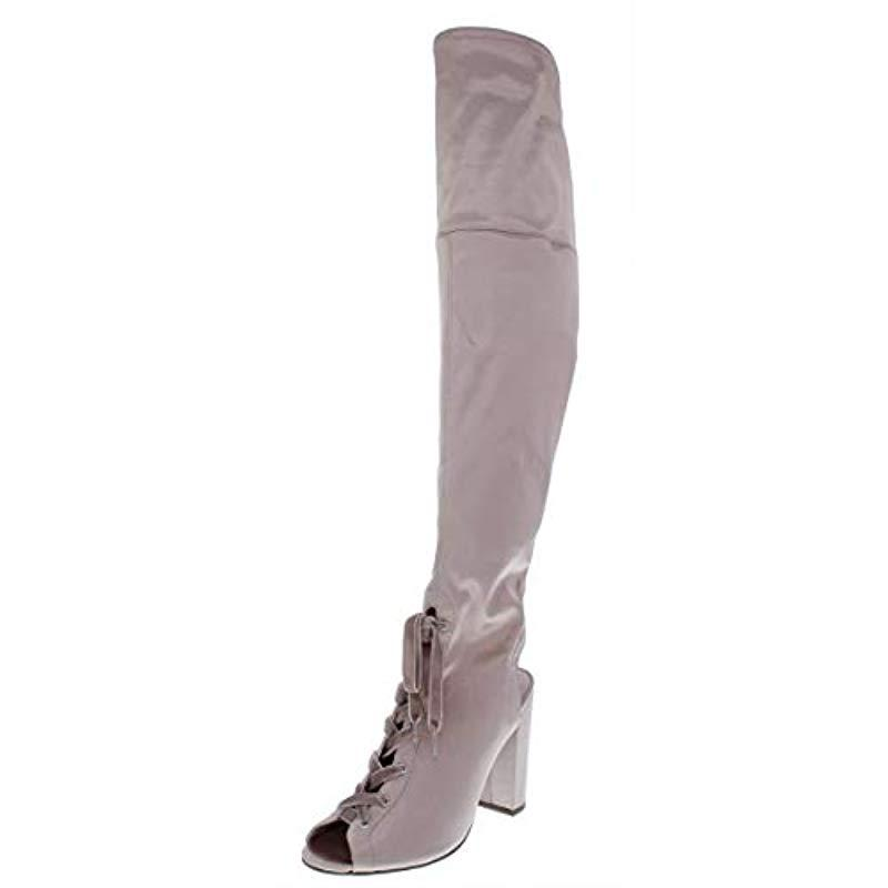 494af687b7a Lyst - Guess Calene Over The Over The Knee Boot - Save 85%