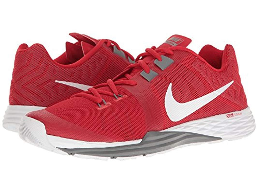 Oblongo helicóptero whisky  Nike Train Prime Iron Df Gymnastics Shoes in University Red/White/Cool Grey  (Red) for Men - Lyst