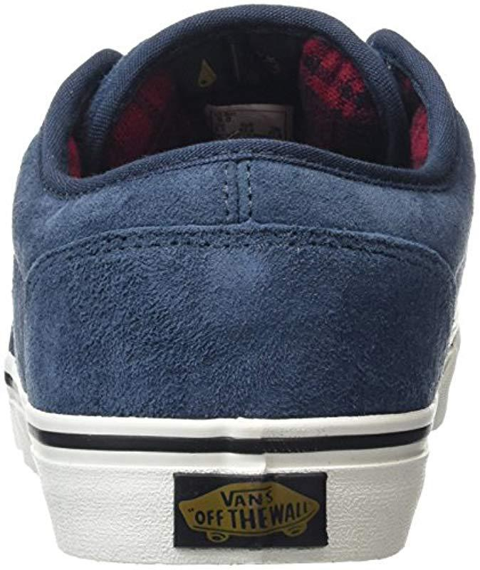 91e290a173 Vans Atwood Low-top Sneakers in Blue for Men - Lyst
