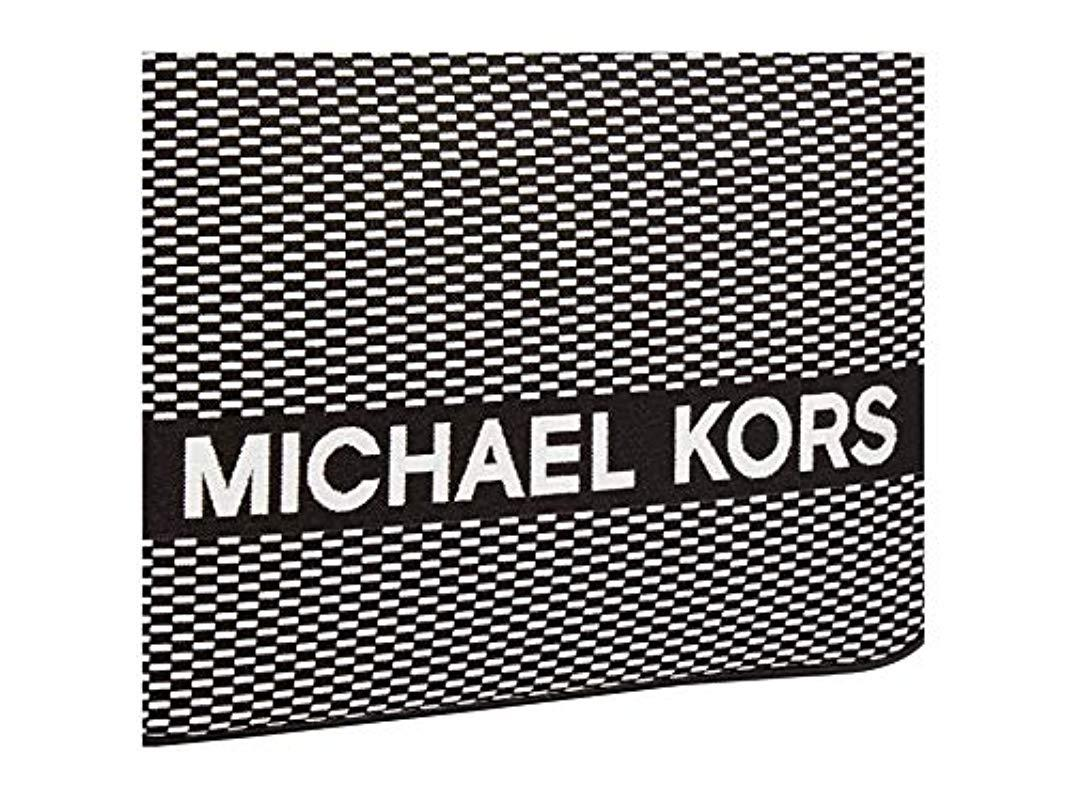 Michael Kors Borsa Donna cod.32H9SJ6C9C Blk/opticwht SIZE:UNI in Schwarz 3JUGp