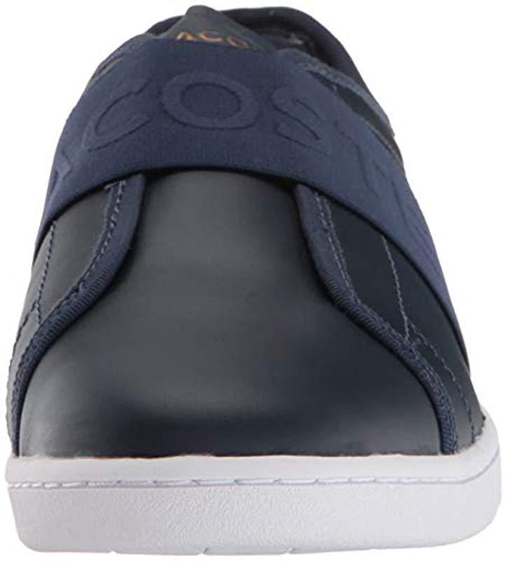 Lacoste Rubber Carnaby Evo Slip Sneaker