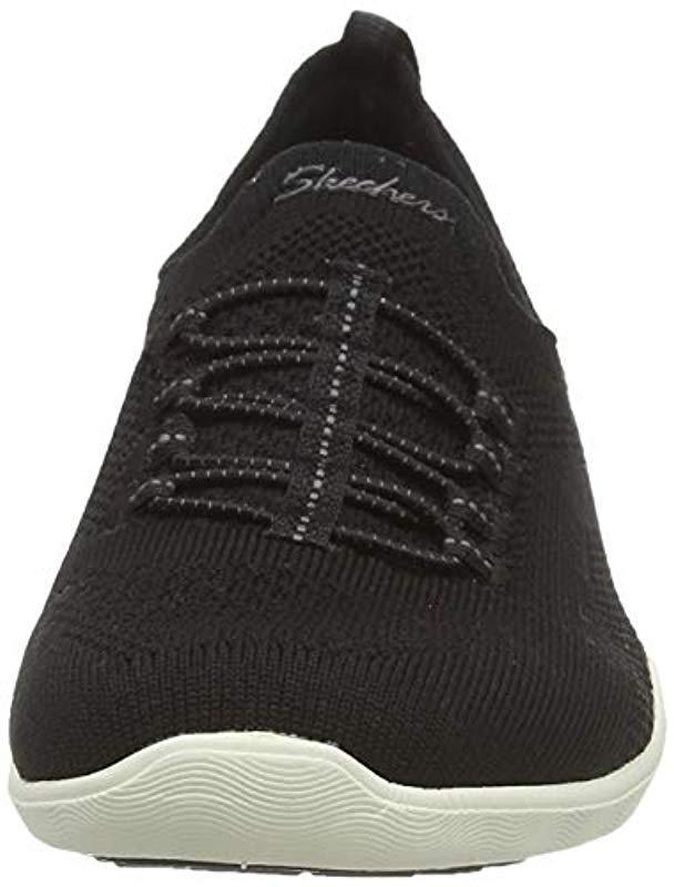 Newbury St-Every Angle, Zapatillas para Mujer Skechers de color Negro