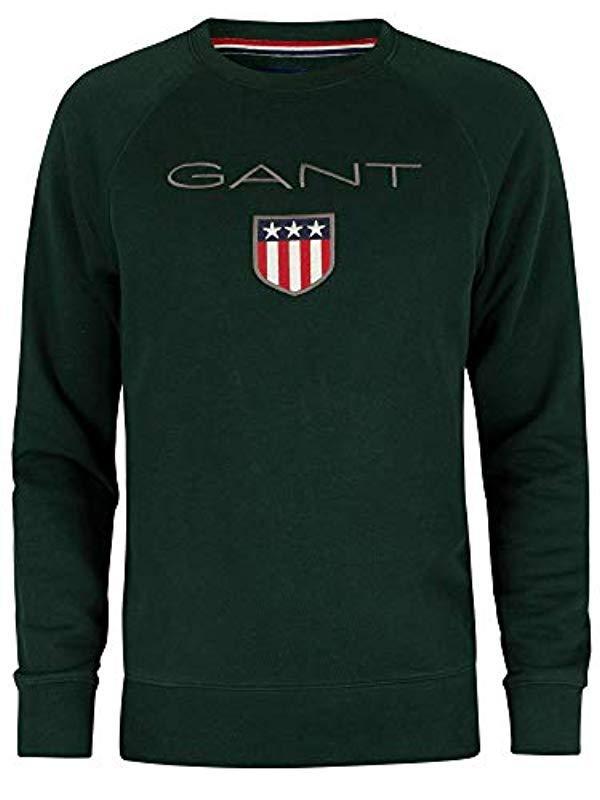 GANT Synthetik Sweatshirt in Grün für Herren