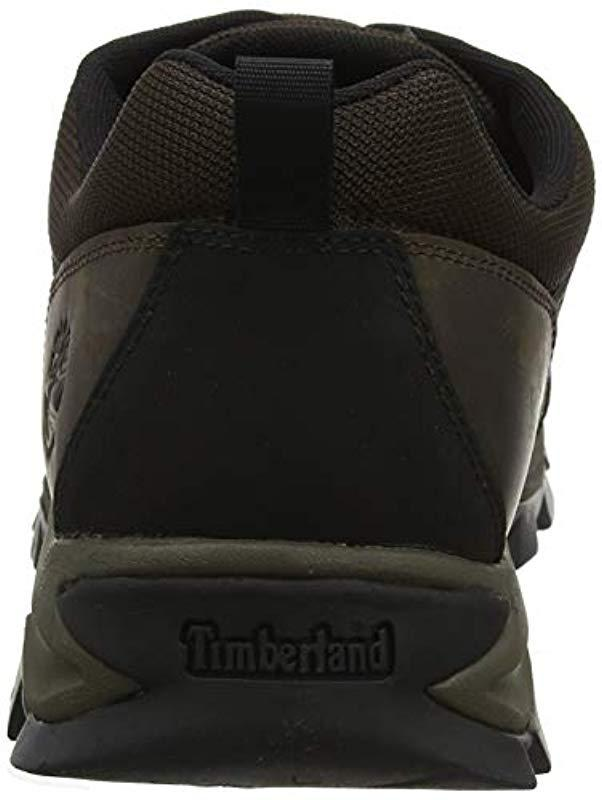 758b0ff9dbeb4 Timberland Keele Ridge Wp Leather Low Oxfords in Brown for Men - Lyst