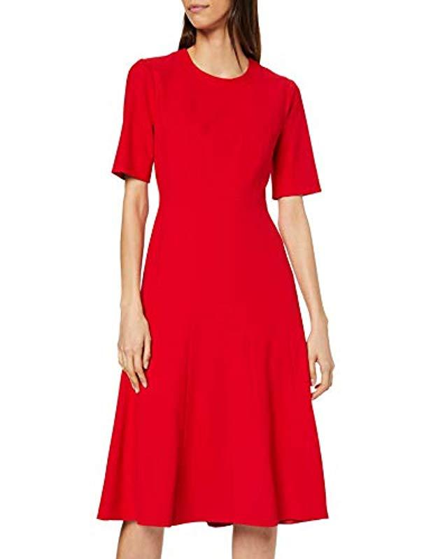 L K Bennett Vena Dress In Red Save 27 Lyst