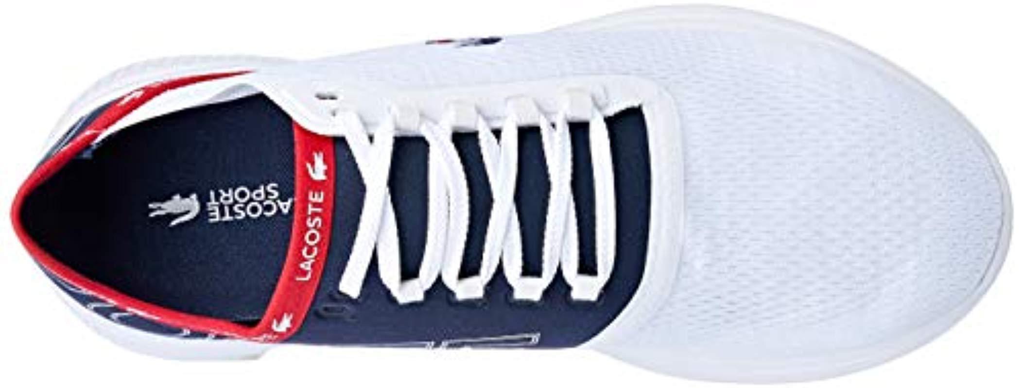 e8b9c72a1e896 Lacoste Lt Fit Sneaker in White for Men - Lyst