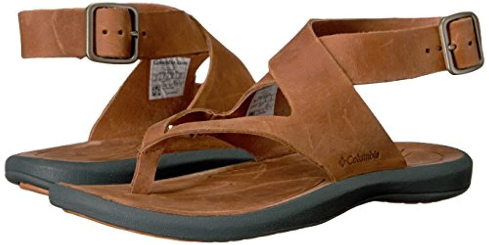 Columbia Leather Caprizee Sandal Nubuck