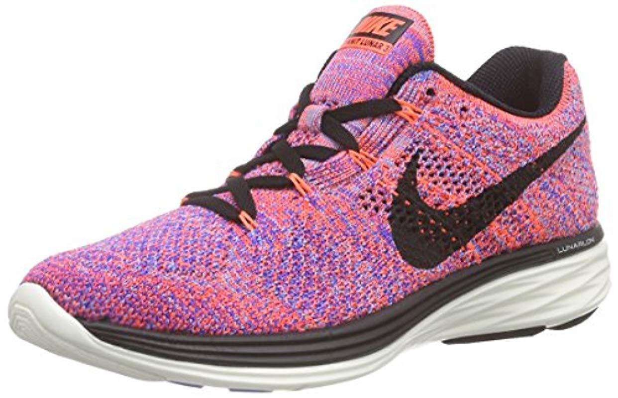 Wmns Flyknit Lunar3, Zapatillas de Running para Mujer Nike