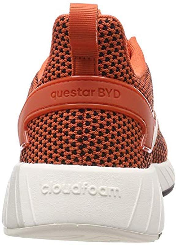 Questar BYD, Zapatillas de Gimnasia para Hombre adidas de Encaje de color Naranja para hombre